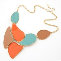 Колье-ошейник Min.order is $10 41B54 Fahion Vintage Exaggerated angle wings collar necklace