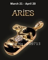 Aries constellation Jewellery USB Flash drive 2GB/4GB/8GB/16GB for promotion!