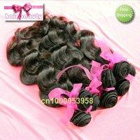 "mix length 4pcs/lot best quality  virgin  malaysian hair free shipping #1b 16""~26"" hot sale body wave"