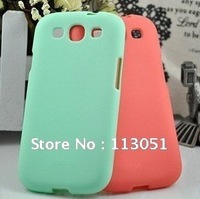 Free Shipping High quality 100% New Silicon Case Cover for Samsung Galaxy S3 i9300