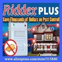 1pc New 2014 Electronics Riddex Pest Control Pest Repelling Mole Killer Ant Pest Repellent As Seen On TV 110V/220V -- MTV40 PA51