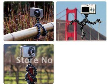 free shipping wholesale  1pcs flexible tripod  Universal Mini Gorilla Pod Camera Tripod Stand Holder ( L Size)