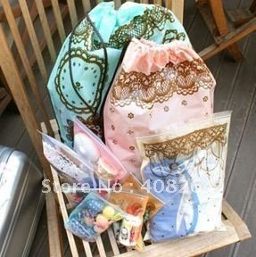 2013 hot sell lace storage bag high quality cheap storage bag Free shipping(China (Mainland))