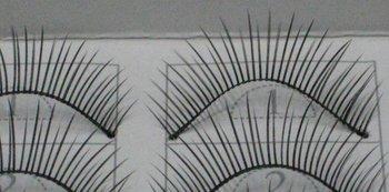free shipping Hand-made False eyelashes 100pairs /lot (10pairs=1 box)  C0012
