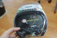 Sport MP3 Music Player Headset Headphones Wireless with SD Card slot FM Radio  1pcs