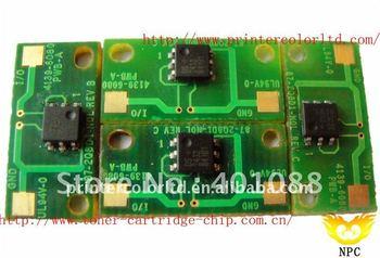 chips toner refilled for Minolta Magicolor 3730