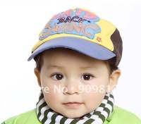 "Free Shipping   ""SWING"" embroidered patch sun hat, Children's spring and autumn cap, Leisure caps, 3 color 50pcs/lot"