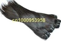 3pcs/lot  high quality 100% human remy india virgin straight hair weaving