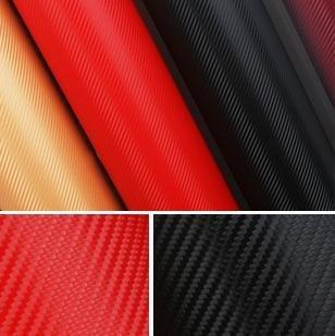 (500*60CM) High quality 3D Carbon Fiber film Vinyl Car Sticker Carbon fiber sheet Free shipping