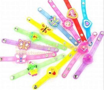 Free shipping LED flashing bracelet, flash glowing bracelet for Party,Christmans 48 pcs/lot