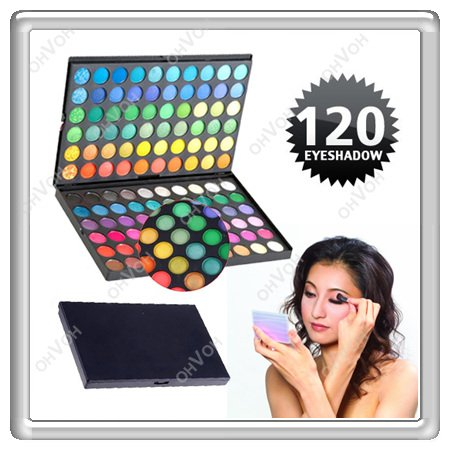 S5Y Pro 120 Full Color Fashion Eye Shadow Eyeshadow Makeup Fashion Palette sets(China (Mainland))