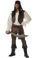 Men's Pirate Costumes Halloween  Costume HS055