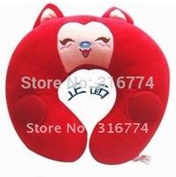 Free shipping  U shape pillow speaker /Music nap pillow for MP3 CD laptop mobile throw Pillow/ Cushion