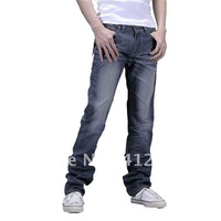 Promotion 2012 free shipping hottest men's classic jeans fashion designer straight men's trousers