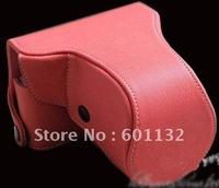 New Camera Case FOR Nikon J1 10-30mm lens and 30-110mm lens pink