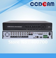 16ch full D1 H.264 comression with 8ch audio 8ch alarm input network surveillance DVR