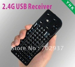 Mini Slim pocket Wireless 2.4G Keyboard For computer PS3 iPad iPhone PC HTPC Smart Phone black ,OS725(China (Mainland))