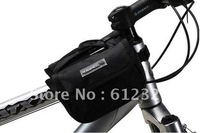 2012 New Bike Increase Style Bicycle Pannier Frame Front Tube Bag + Rain Cover