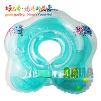 Yingtai baby swimming neck ring baby flower inflatable neck ring infant swimming neck ring double layer