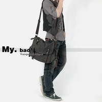 High-grade Canvas man handbag / Man messenger bag /  travel bag  / carryall bag  /  MY8080-95khaki