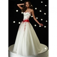 Christmas Ivory Strapless Bridal Wedding Dress Ball Gown Party Pageant Dress Custom SZ 2-6 8 10 12 14 16 18 20 JLW718163