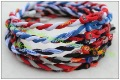 100 pc/lot us Baseball Necklace 2 colours twist necklace,  tornado soprt  necklace with packing mix order