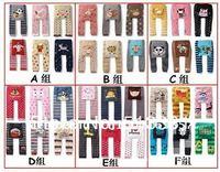 Promotion! 108pcs 6 groups Busha PP Pants(36 colors)/Baby Trousers/Baby Boys Girls Pants/ Baby Leggings Free Shiping