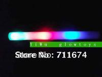 can customize logo led foam stick glow stick High Quality flash stick  China led foam glow stick Suppliers