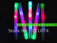 fee shipping  customize logo  led foam glow stick