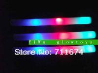 can customize  logo free shipping led glowing foam stick  glow baton  stick led wholesale