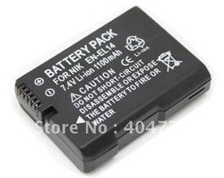New 1030mAh OEM Digital Camera Battery for NIKON EN-EL14(China (Mainland))