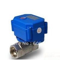 """1/2"""" Stainless Steel Electric Ball Valve Control Way CR01/02/05,12V"""