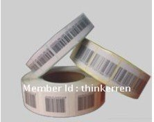 8.2mhz RF disposable EAS soft tag/soft label