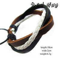 sl047 /PU leather bracelet,high quality ,trendy string bracelet,Casual Style,fashion jewelry,factory price wholesale