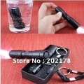 "Flashlight Portable multi-function light waterproof mini LED car flashlight key chain flashlight ""material"" aluminum"