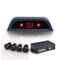 3PCS 4 sensor Car parking sensor reverse backup radar with Digital LED A100