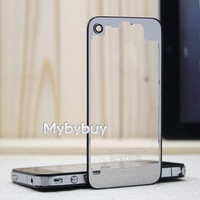 Clear Transparent Glass Replacement Back Cover Housing For iPhone 4 4G.