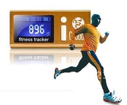 Customized LCD fitness tracker for sporting Fans calorie engery calculator(China (Mainland))