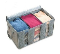 Wholesale NEW Foldable Storage Box, Bamboo Fiber Non-woven fabric Clothing Bag