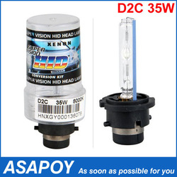 Free shipping.2Pcs/lot Car 8000K D2S D2R D2C HID Xenon Replacement Light Bulbs 35W(China (Mainland))