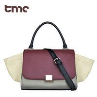 2013 TMC new fashion women contrast candy color handbag bat style shoulder bag YL137