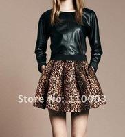 Sexy wild leopard skirt A521