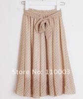 Ribbon Belt Chiffon Dress A523