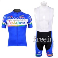 2012 New Arrival Andalucia Short Sleeve Cycling Jerseys and BIB Shorts Set/Cycling Wear