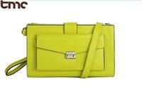 2013 TMC Hot Women Vintage Celebrity Girl Retro Fashion Neon Green Clutch Elegant Messager Crossbody Shoulder Bag YL190