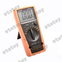 "VICHY VC6013 Digital 3.0"" LCD Capacitance Multimeter - Grey + Orange (1 x 6F22) 13129"