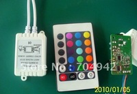 DC12V 24 Keys IR Remote Controller for 3528 5050 RGB LED Strip 50PCS/Let Free shipping by EMS/DHL/UPS