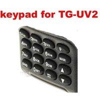 Free Shipping 2PCS Keypad for Quansheng TG-UV2 Walkie-Talkie Interphone