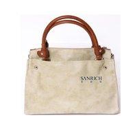 Sanrich Genuine leather suede women messenger bag  woman handbag briefcase computer bag / SA4011-172S
