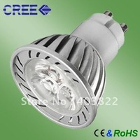 Free shipping Civil application dimmable 9w  CREE GU10 led spot light cool white